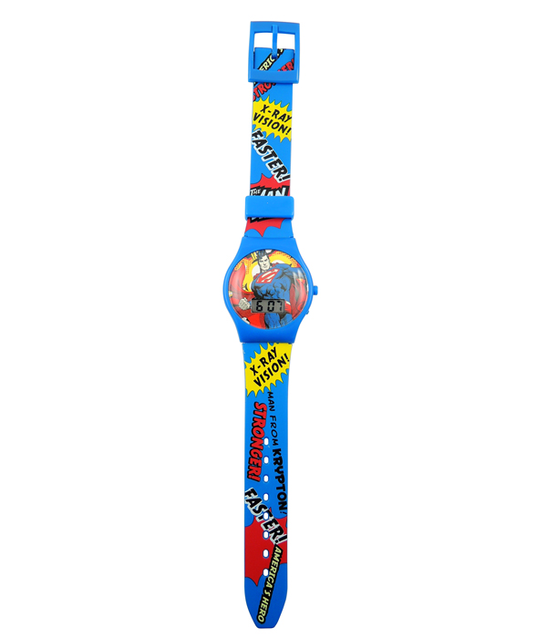 SUPERMAN  LCD UHR