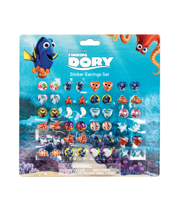 FINDING DORY STICKEROHRRINGE