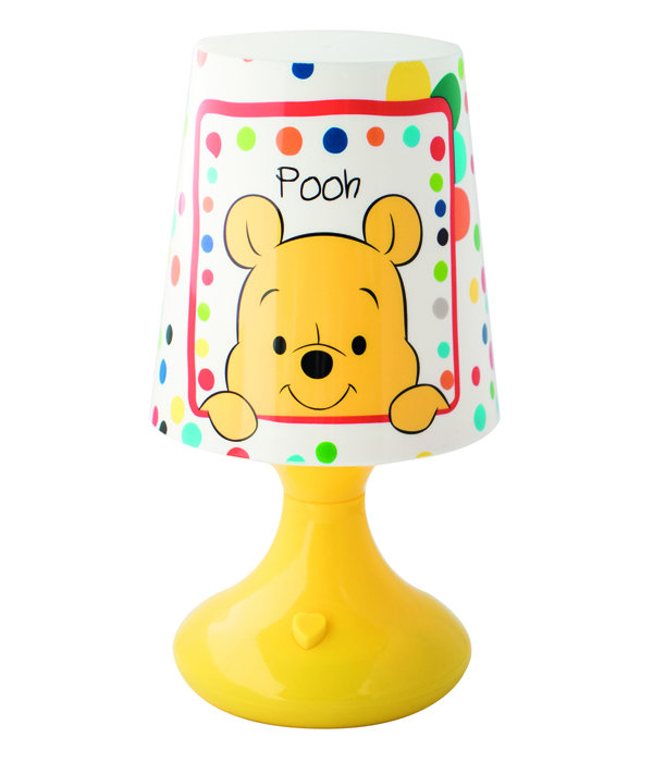 WINNIE POOH BABY LED MINI LAMPENSCHIRM