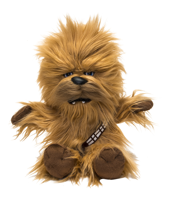 Roaring Chewbacca 45 Cm With 8 Different Roarings Mouth
