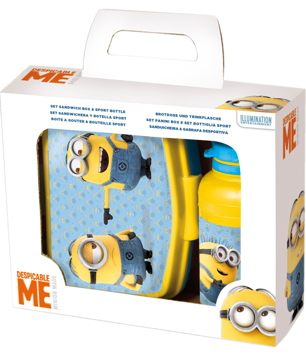 sc 1 st  Joy Toy & MINIONS LUNCHBOX AND BOTTLE IN GIFT WRAP