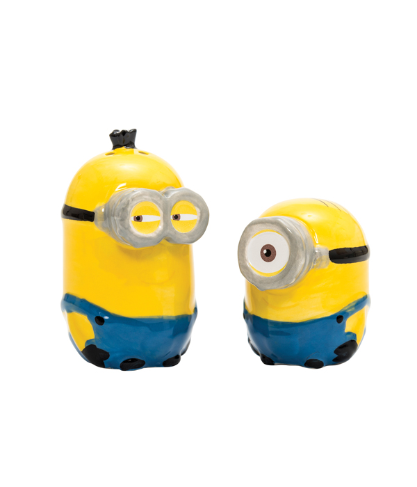 sc 1 st  Joy Toy & MINIONS CERAMICS SALT AND PEPPER SHAKERS SET IN IN GIFT WRAP