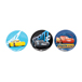 CARS 3 3 BUTTONS