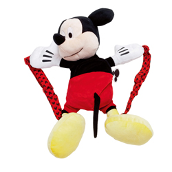 MICKEY PLUSH BACKPACK