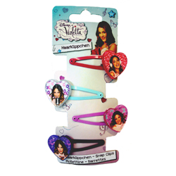 VIOLETTA 4 SNAP CLIP ON BACKER CARD