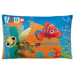 FINDING NEMO AND SQUIRT RECTANGULAR PRINTED CUSHION
