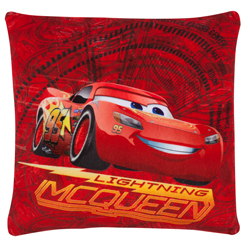 CARS 3 - LIGHTNING MCQUEEN RED SQUARE CUSHION