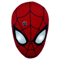 SPIDERMAN CUSHION WITH LED LIGHT