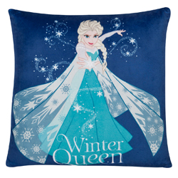FROZEN CUSHION WITH LED LIGHTS