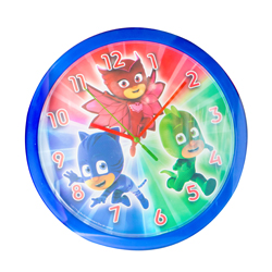 PJ MASK WALLCLOCK 24 CM IN GIFTBOX