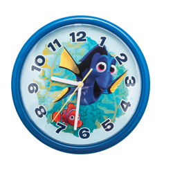 FINDING DORY WALL CLOCK IN GIFT WRAP