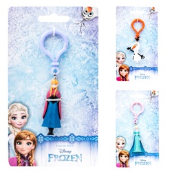 FROZEN 3D PVC CLIP ON'S
