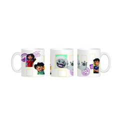 ABOMINABLE MAGIC MUG - HEATH REVEAL MUG - 320 ML - 12X9X10 CM