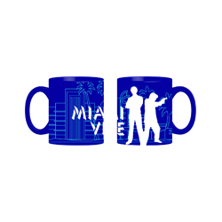 MIAMI VICE MUG IN A GIFT BOX 12X9X10 CM