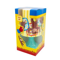 CURIOUS GEORGE LED MINI LAMPENSCHIRM