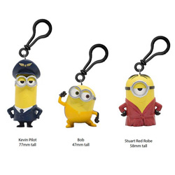 MINIONS 2 CLIP ON WITH 3D FIGURE