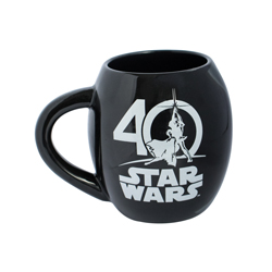 STAR WARS 40 YEARS OVALE TASSE