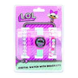 LOL SURPRISE DIGITAL WATCH WITH BRACELETS