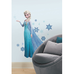 DISNEY FROZEN ELSA GIANT WALL DECAL SHEET IN BLISTER PACK