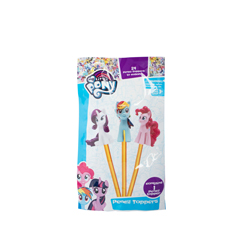 MY LITTLE PONY PENCIL TOPPER WITH 3D FIGURE IN BLINDBAG