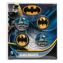 BATMAN MAGNET-SET AUS GLAS