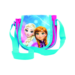 FROZEN SHOULDER BAG WITH GLITTER 6X16X19 CM