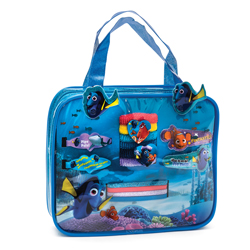 FINDING DORY HAIR ACCESSORIES SET IN HAND BAG