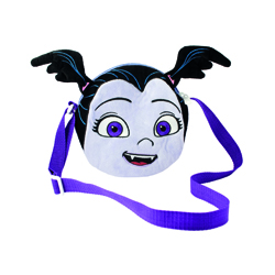 VAMPIRINA PLUSH HANDBAG Ø 18 CM WITH EMBROIDERED PATTERN AND EARS