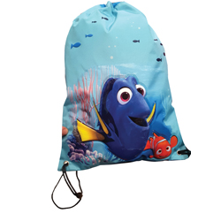 FINDING DORY SPORTS BAG WITH PVC APPLICATION, 16 CM LENGTH X 6 CM WIDTH X 13 CM HEIGHT