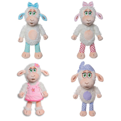 SHEEPERELLA 28 CM PLUSH, 12 PCS ASSORTED IN DISPLAY