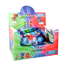 PJ MASKS STAMPERS WITH 3D FIGURE IN BLINDBAG