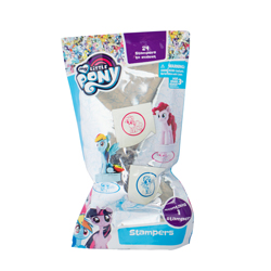 MY LITTLE PONY STEMPEL MIT 3D