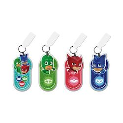 PJ MASK KEYCHAINS WITH LED LIGHT