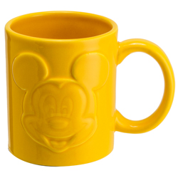 MICKEY MOUSE RELIEFTASSE GELB 320 ML
