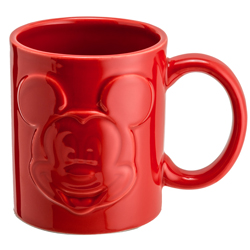 MICKEY MOUSE RELIEFTASSE ROT 320 ML