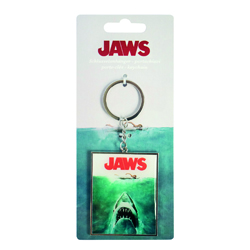 JAWS METAL KEYCHAIN