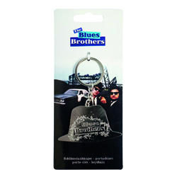 BLUES BROTHERS METAL KEYCHAIN