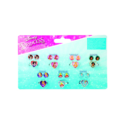 DISNEY PRINCESS SEVEN DAY RING & EARRING SET