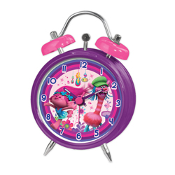 TROLLS METAL ALARM CLOCK IN GIFT WRAP