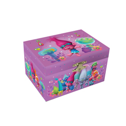 TROLLS MUSICAL JEWELRY BOX