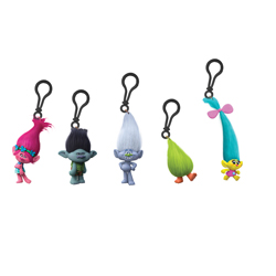 TROLLS 3D PVC CLIP ON'S