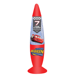 LIGHTNING MCQUEEN LED GLITZERLAMPE