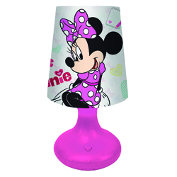 MINNIE AND MICKEY LED MINI LAMPENSCHIRM