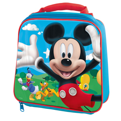 MICKEY THERMO INSULATED LUNCH BAG, 23 CM LENGTH X 8 CM WIDTH X 21 CM HEIGHT