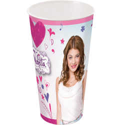 VIOLETTA LARGE PLASTIC CUP 560 ML