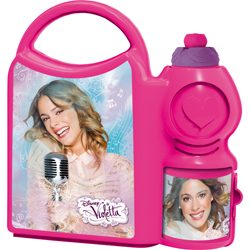 VIOLETTA LUNCH BOX WITH SPORTS BOTTLE GIFT SET