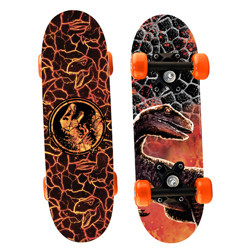 Jurassic World 2 - Skateboard aus Holz