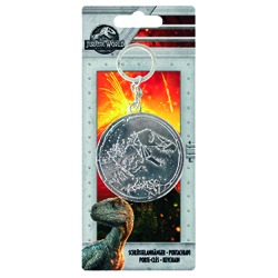 JURASSIC WORLD 2 - METALL KEYCHAIN