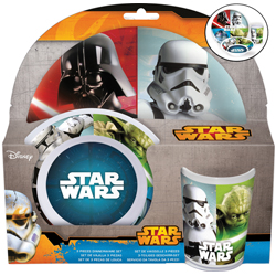 STAR WARS MELAMINSET