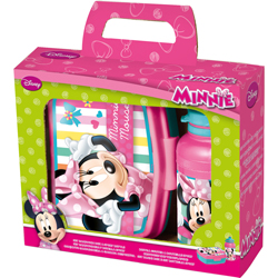 MINNIE SET: JAUSENBOX TRINKFLA